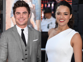 Michelle Rodriguez cambia a su novia por un novio: Zac Efron