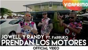 Prendan Los Motores  [Official Video] - Jowell y Randy