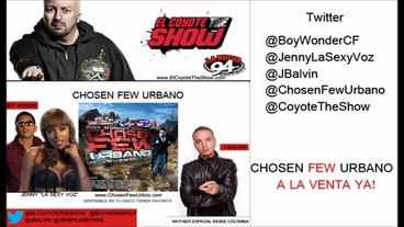 Especial: Chosen Few Urbano en el Coyote Parte 2  [Behind the Scenes] - J Balvin