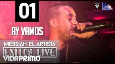 Ay Vamos (Exitos Live) [Official Audio] - Messiah