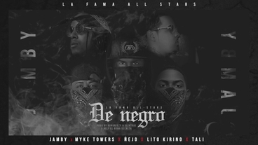 De Negro (Remix) [Official Audio] - Jamby